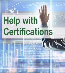 Banner Hilfe bei Zertifizierungen