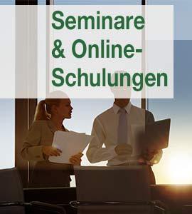 Banner Seminare und Onlineschulungen