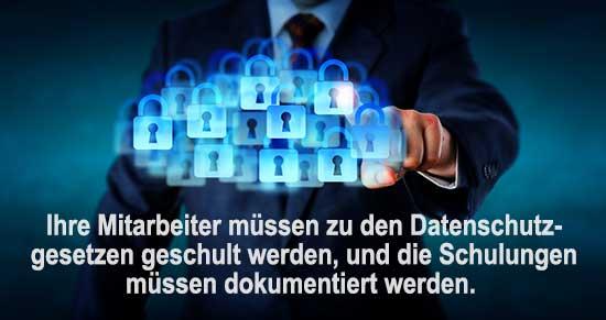 Konzept Datenschutz