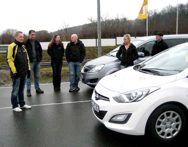 Fahrsicherheitstraining beim ADAC