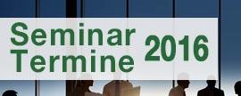 Seminarterminen Luftsicherheit, Zoll, Außenwirtschaft für 2016