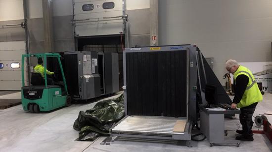 Röntgengerät für Frachtkontrollen
